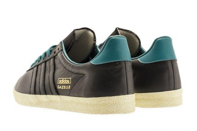 Adidas Gazelle Og Soft Gold Teal 1