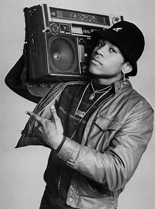 Ll Cool J  Ny 1985© Janette Beckman