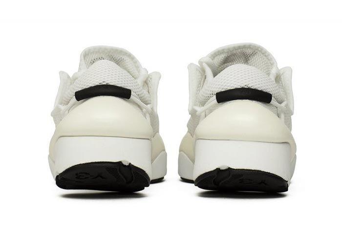 Adidas Y 3 Ren White F99798 Heel Shot
