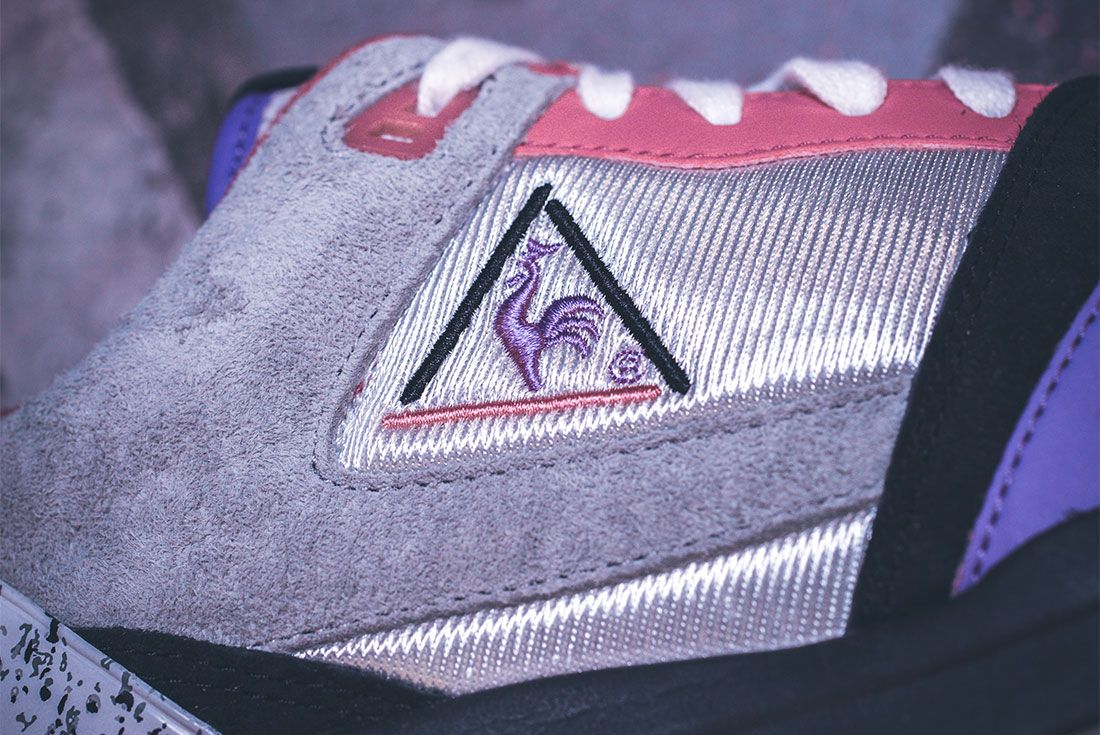 Le Coq Sportif X Opium Lcs R1000 Up Close Side