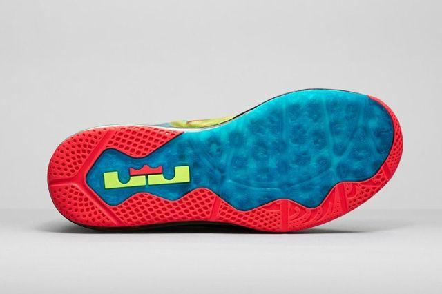 Nike Le Bron 11 Low Se Multicolor 01