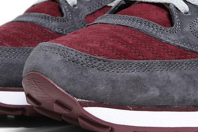 Saucony White Mountaineering Jazz Burgundy Toe 1