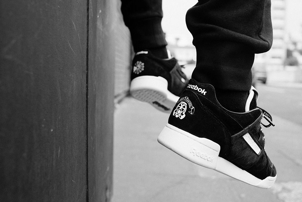 Reebok Footpatrol Workout Lo Blackbuck 8