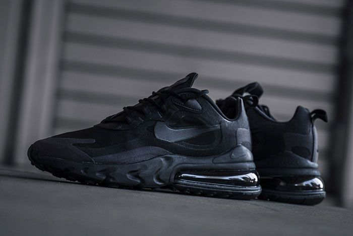 Nike Air Max 270 React Triple Black Ao4971 003 Outdoors