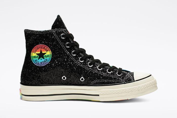Chuck 70 Pride High Top Black Medial