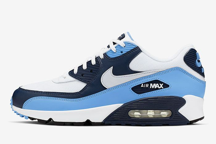 Nike Air Max 90 Unc Aj1285 105 Lateral