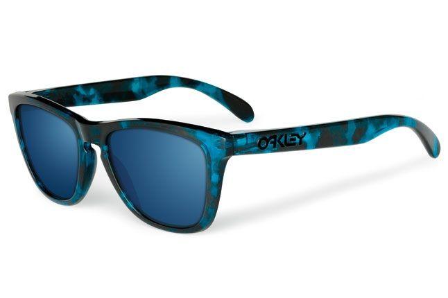 Oakley Acid Tortoise Frogskins Blue 1