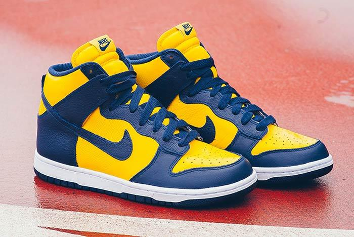 Air Jordan Be True To Your School Michigan 2