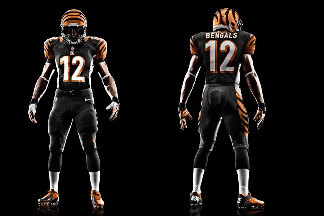 Cincinnati Bengals Uniform 1
