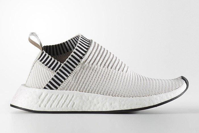 Adidas City Sock Nmd 2 Pearl Grey White 4