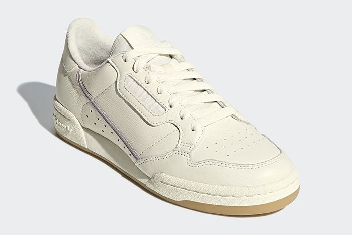 Adidas Continental 80 Off White Orchid Tint 3