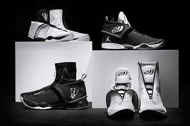 Jordan Brand Playoff Player Editions Pack White Black 1