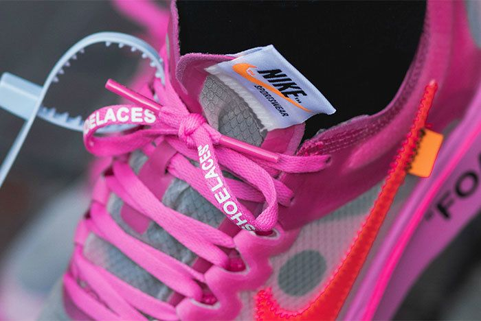Zoom Fly Off White 01 Pink