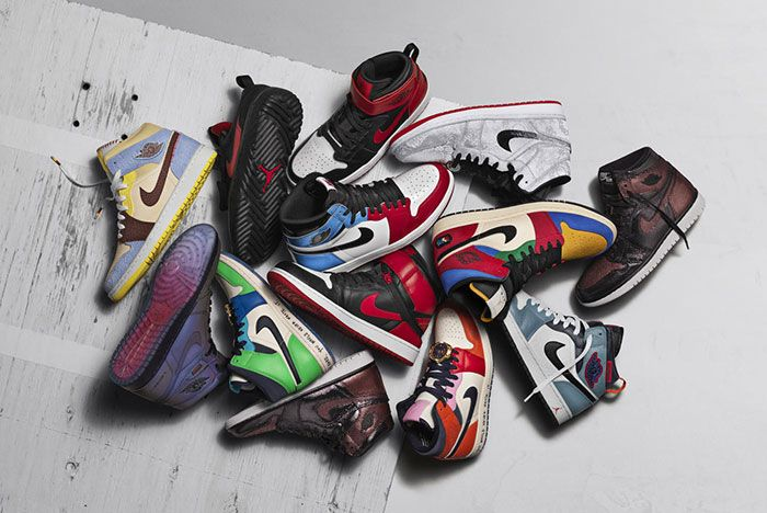 Jordan Brand Air Jordan 1 Fearless Ones Collection Nike Promo2