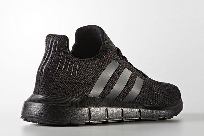 Adidas Swift Run Triple Black 4