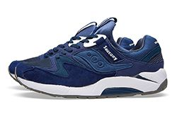 White Mountaineering X Saucony Grid 9000 Navy Thumb