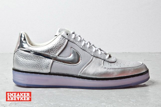 Nike Air Force 1 Downtown Silver 1 1
