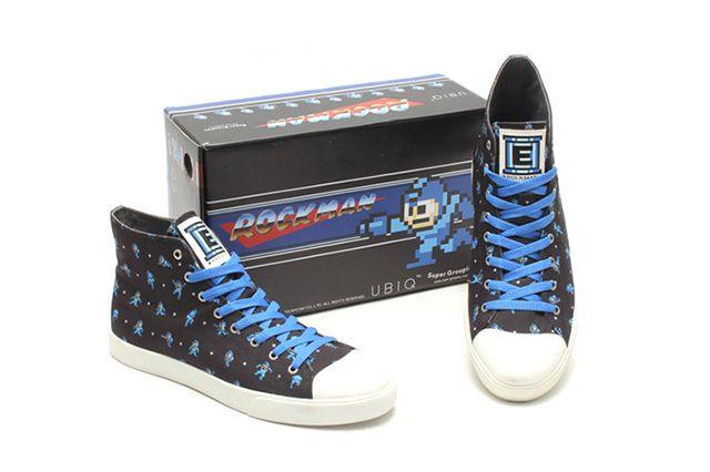 Mega Man X Ubiq 2015 High Top Sneakers 3