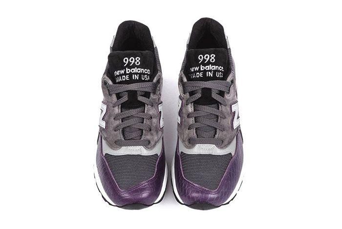 New Balance M998 Purple Faux Croc Colorway Release1 Top