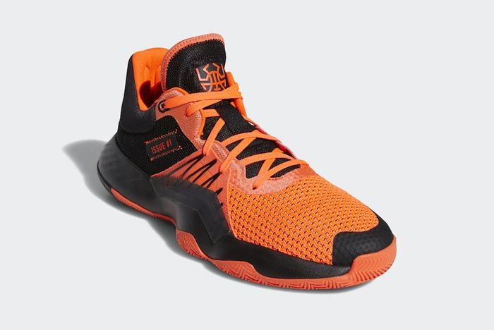 Adidas Don Issue 1 Solar Red Core Black Front