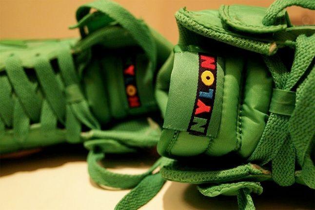 Nike Dunk Nylon Green 1