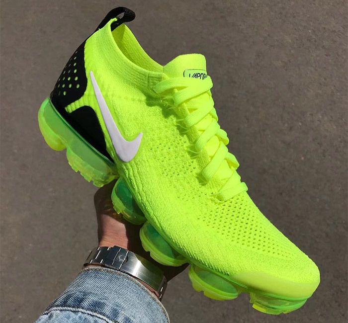 Nike Air Vapormax 2 Flyknit Volt 942842 700 3