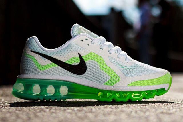Nike Wmns Air Max 2014 White Green Thumb