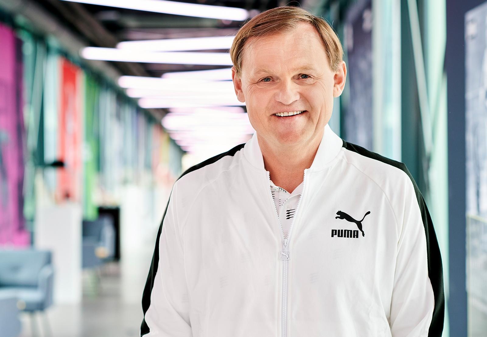 PUMA CEO Björn Gulden