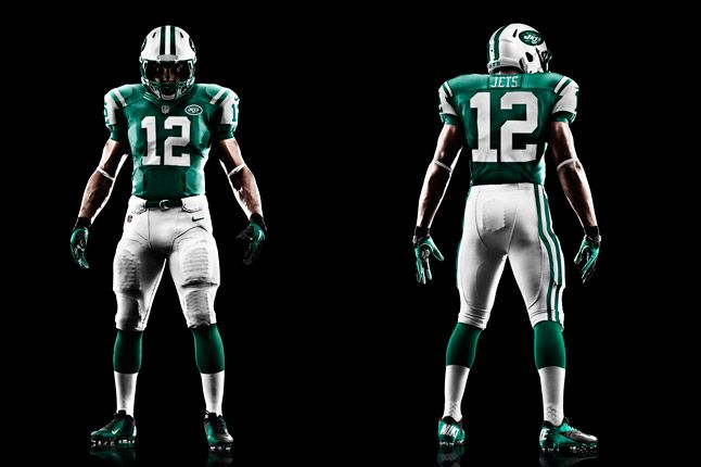 New York Jets Uniform 1
