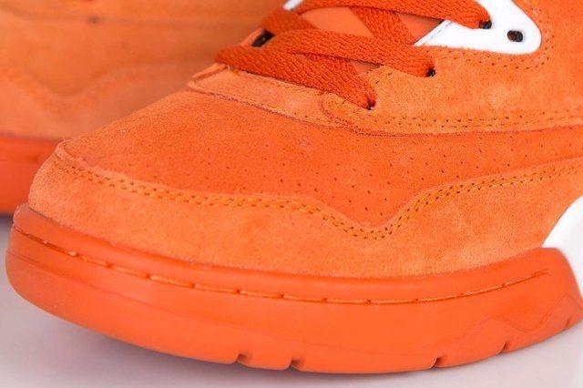 Ewing Athletics Ewing Guard Orange Suede 2