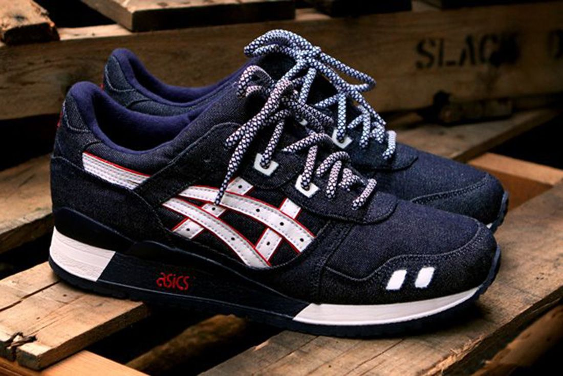 Ronnie Fieg x ASICS GEL-Lyte III Selvedge Denim 2012