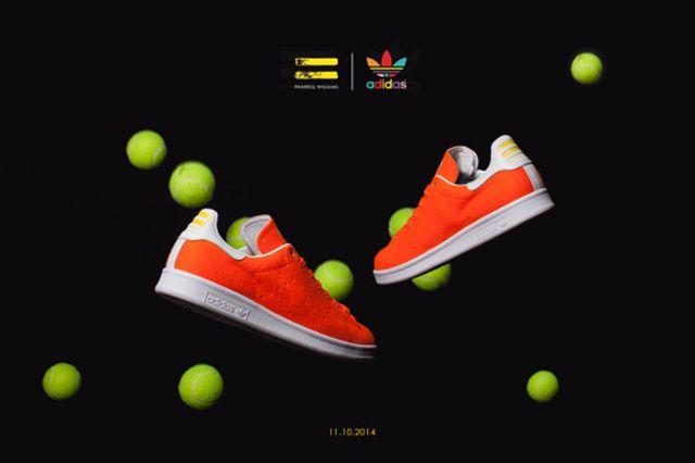 Pharrell Williams Adidas Originals Stan Smith Tennis 06 570X380