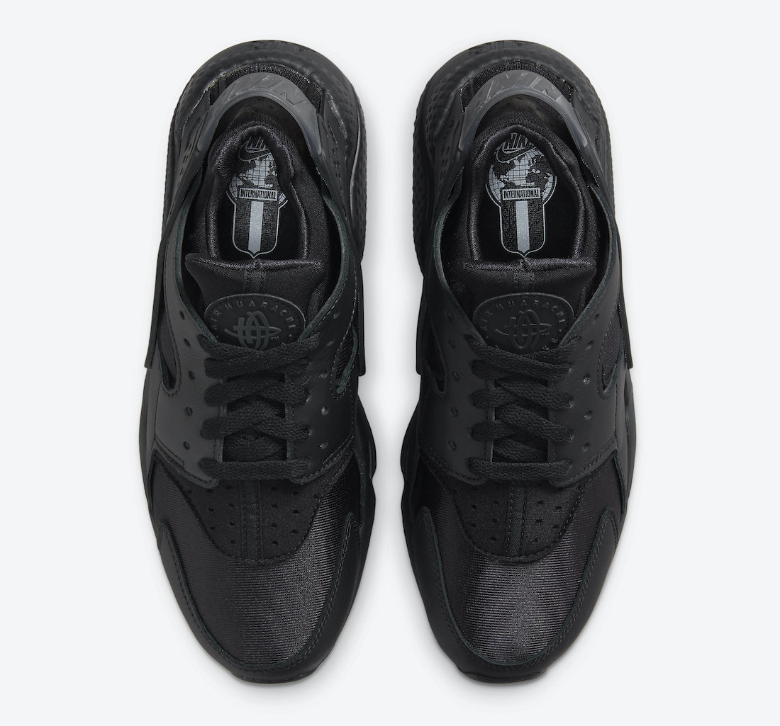 Nike Air Huarache Triple Black 2021 DH4439-001