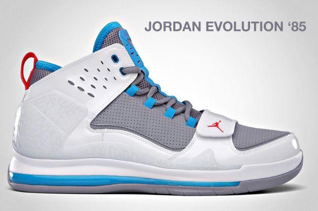 Jordan Evolution 85 Grey 1