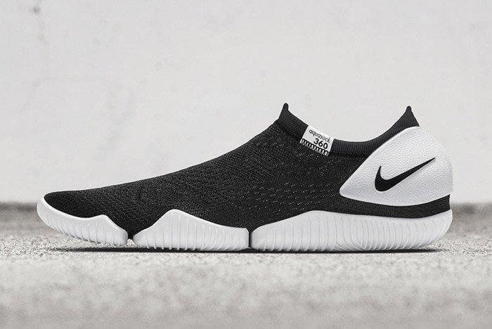 Nike Aqua Sock 360 Black White 2