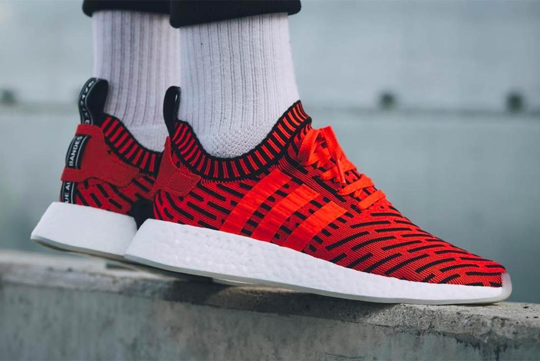 Adidas Nmd R2 Core Redcore Black 1