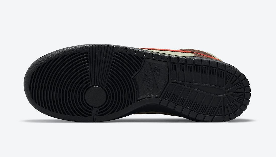 Color Skates x Nike SB Dunk High 'Kebab & Destroy'