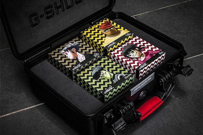 Casio Gorillaz Pack 7
