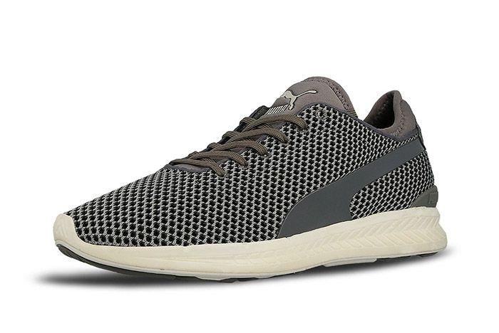 Puma Ignite Sock Knit Steel Grey 6
