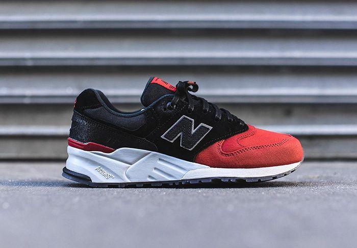 New Balance 999 (Black/Red) - Sneaker