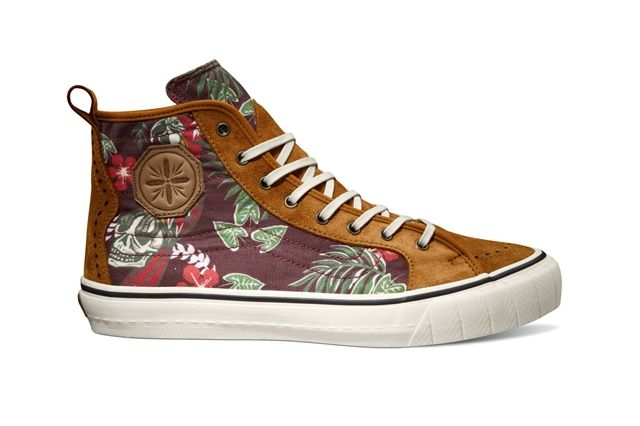 Vault By Vans Th Court Hi Lx Th Paradise Syrah Fall 2013