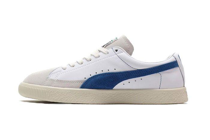 Puma Basket 90680 Black Suede Shoe Release 15 Side