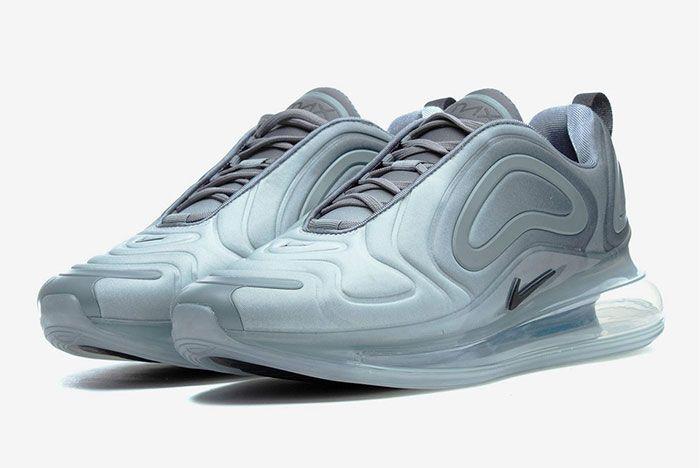 Nike Air Max 720 Cool Grey Quarter