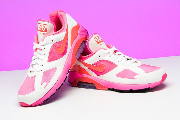 Comme Des Garcons Nike Air 180 Pink 7