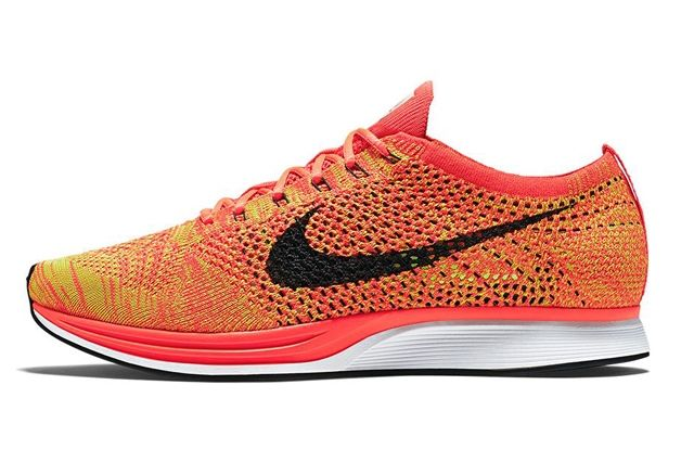 Nike Flyknit Racer Orange Slice 6