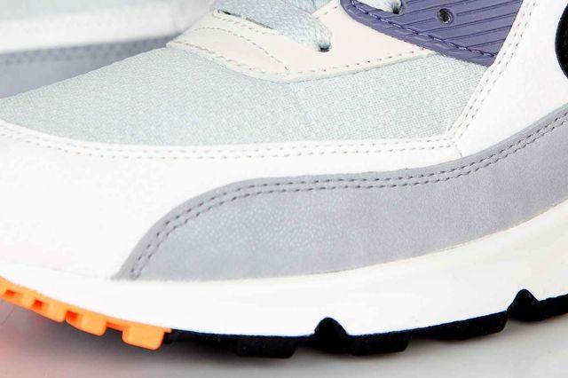 Nike Air Max 90 Essential Iron Purple Atomic Orange 3
