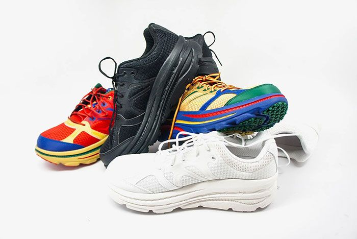 Engineered Garments Hoka One One Bondi B Group Shot