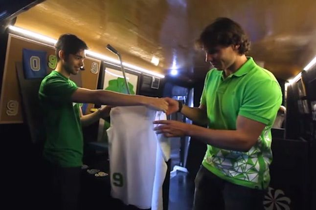 Rafael Nadal Polo Nike 6 1