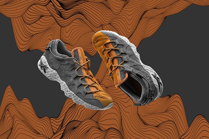 Foss Asics Gel Mai Development Sunrize 1 Sneaker Freaker