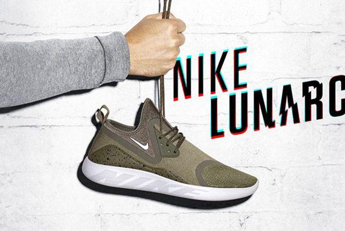 Nike Lunarcharge Olive Green 1